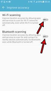 So deaktivieren Sie das Scannen von Google Location Wi-Fi auf Android